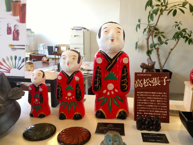Experience Painting Takamatsu Hariko Kagawa S Famous Handicraft