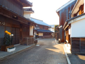 Udatsu Old town road