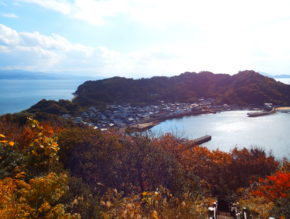 The scenery of Nogutsuna island