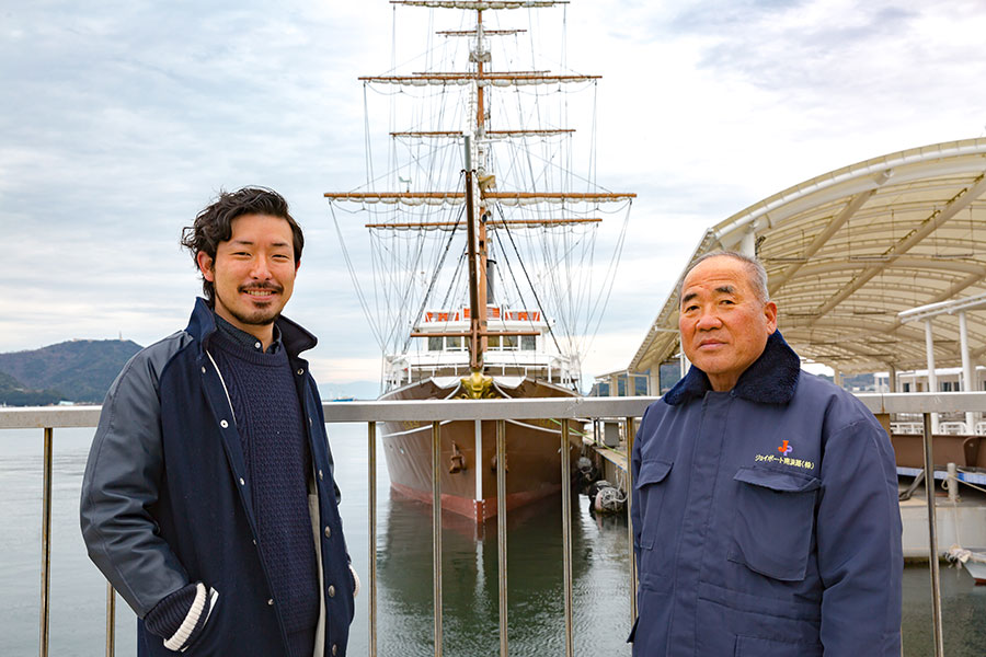 After talking with the crew of the Kanrinmaru cruise ship we knew we were in safe hands.