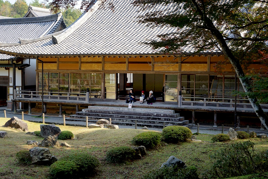 The Main Hall serves as the entrance to Sesshu's creation.