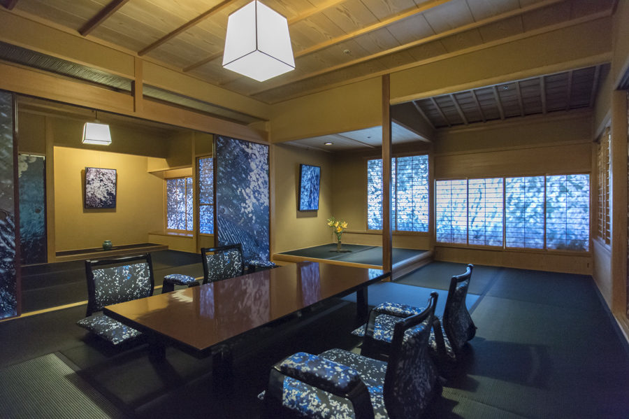 Room 715 refurbished in collaboration with the famous Japanese artist Mika Ninagawa.