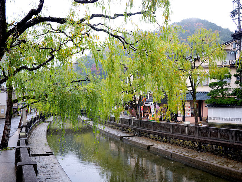 Stroll along the river-side, perhaps in a yukata, and experience a truly Japanese stay.