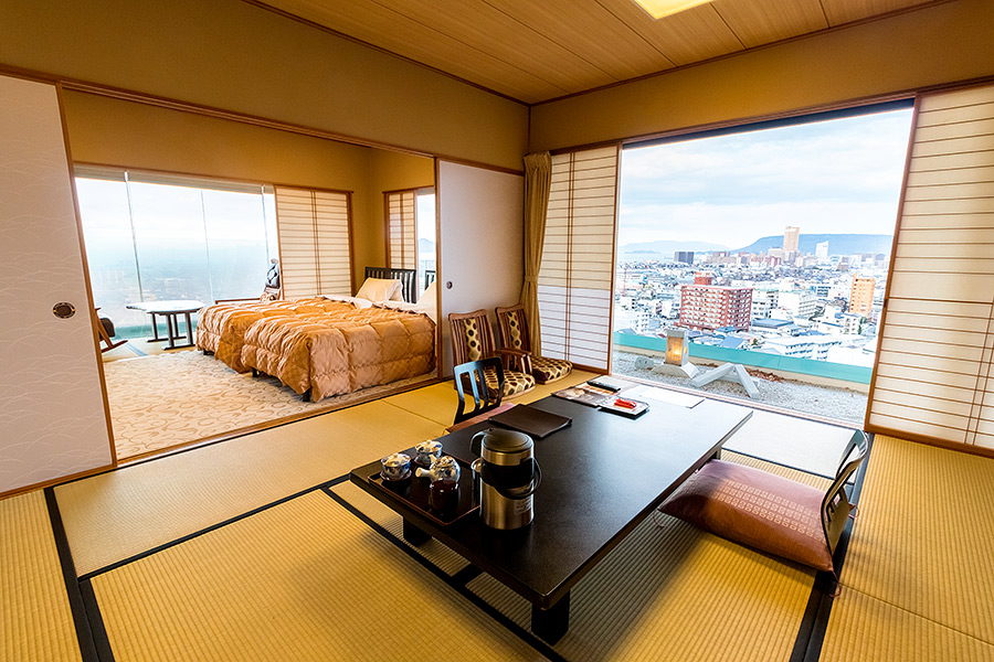Every room at Hanajukai delivers a stunning view.