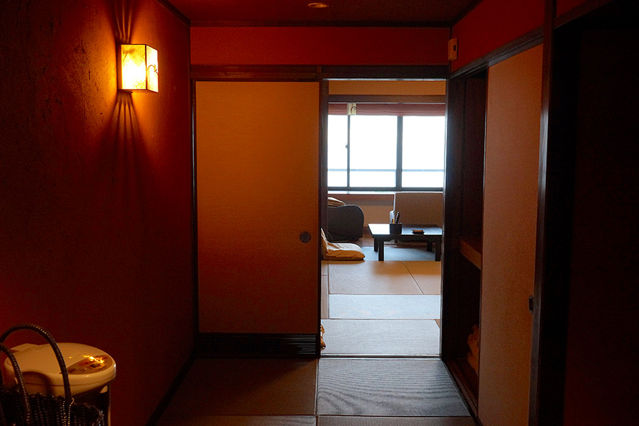 The rooms are an elegant mixture of Japanese simplicity and Western comforts.
