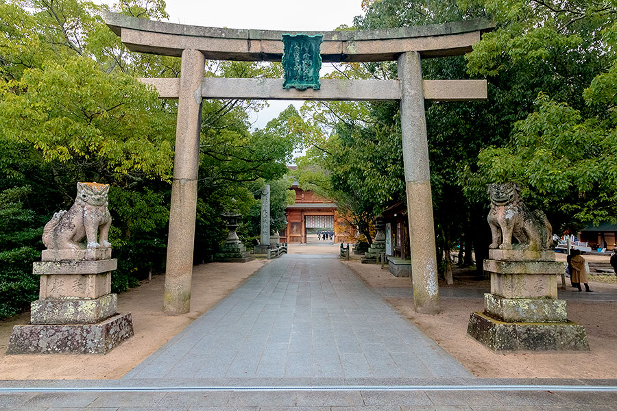 Walking through the torii gate where so many of Japan's greatest warriors have trod presents a real thrill for any student of history.