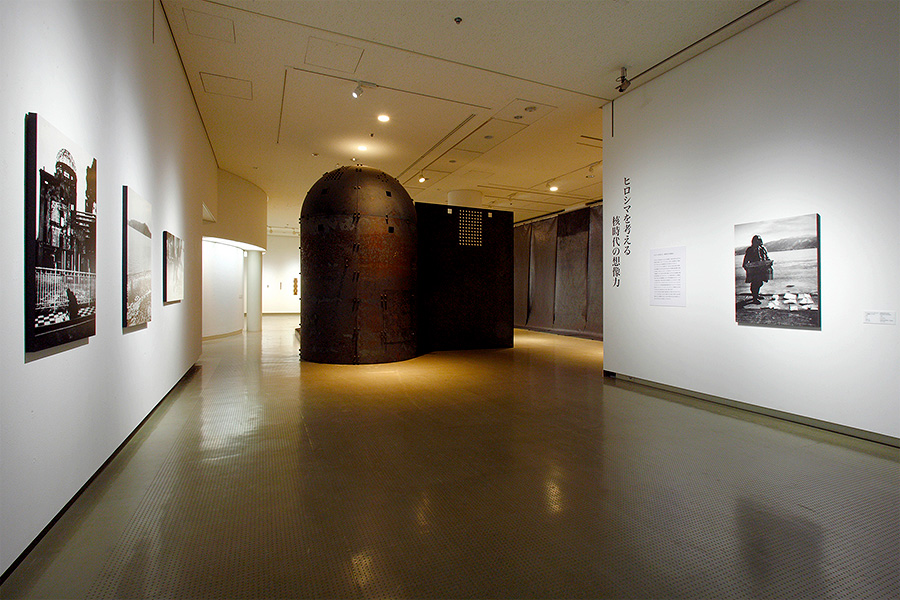 Hiroshima MOCA possesses an immense collection of works related to the atomic bombing.