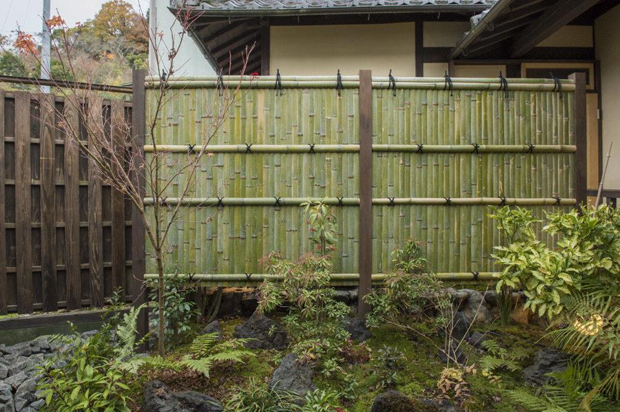 A miniature Japanese garden.